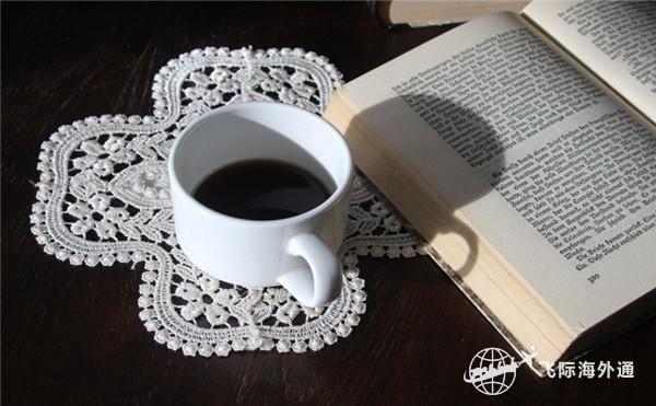 咖啡和一本书
